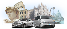 Transfer Service from and to Rome, Florence, Milan and Venice.